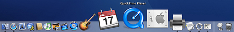 MacOS X taskbar