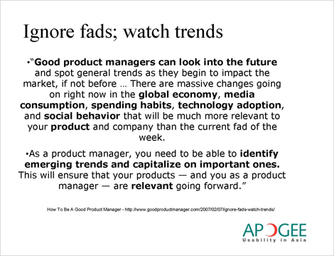 how fads and trends can help you in your life