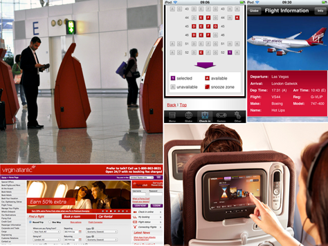 Virgin's cross-channel experience