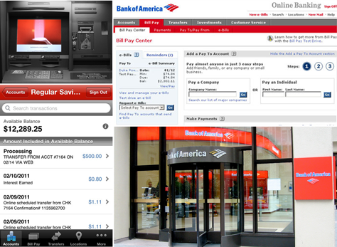 Bank of America's cross-channel experience