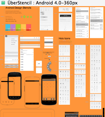agile omnigraffle and native mobile wireframing uxmatters - Best Omnigraffle Stencils