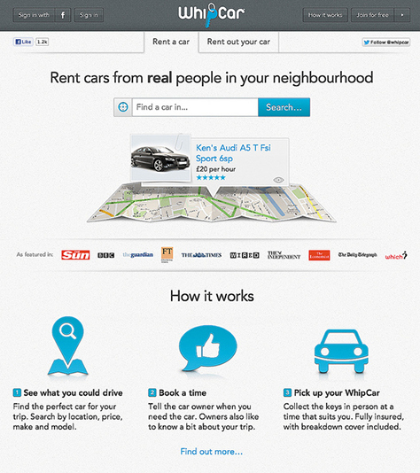 Service design chapter 6 developing the service proposition whipcar is a peer to peer car sharing service that is like airbnb malvernweather Choice Image