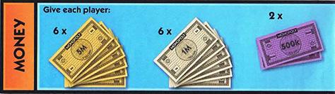 Money To Start Monopoly