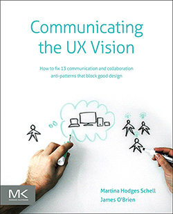 Cover for Communicating the UX Vision
