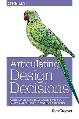 Articulating Design Decisions Cover
