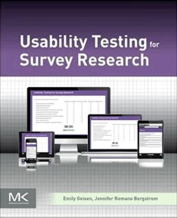 Usability Testing for Survey Research :: UXmatters