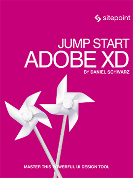 Cover of Jump Start Adobe XD