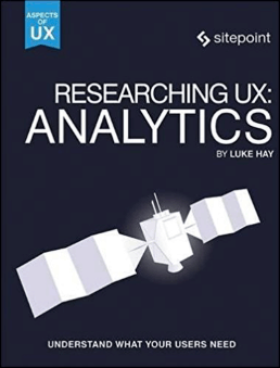 Researching UX: Analytics Cover