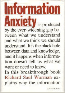 Cover: Information Anxiety