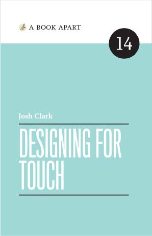 Cover: Designing for Touch